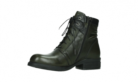 wolky lace up boots 02625 center 20730 forestgreen leather_11