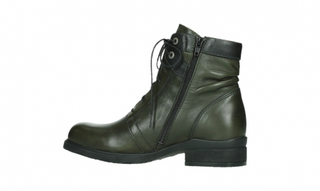 wolky lace up boots 02625 center 20730 forestgreen leather_14