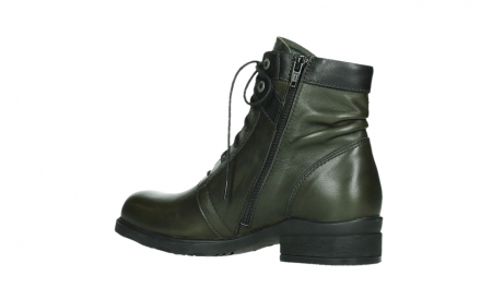 wolky lace up boots 02625 center 20730 forestgreen leather_15