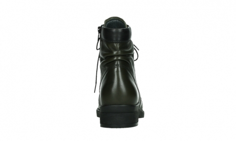 wolky lace up boots 02625 center 20730 forestgreen leather_19