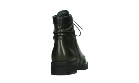 wolky lace up boots 02625 center 20730 forestgreen leather_20