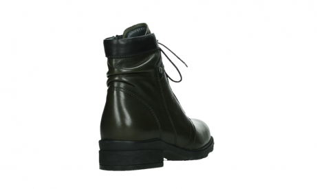 wolky lace up boots 02625 center 20730 forestgreen leather_21