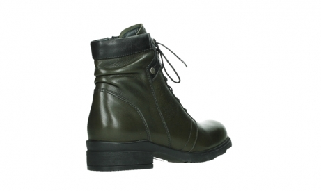 wolky lace up boots 02625 center 20730 forestgreen leather_22