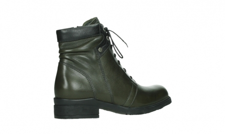 wolky lace up boots 02625 center 20730 forestgreen leather_23