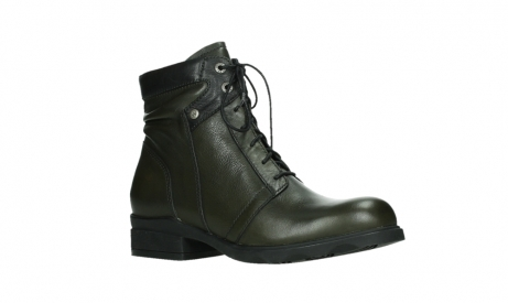 wolky lace up boots 02625 center 20730 forestgreen leather_3