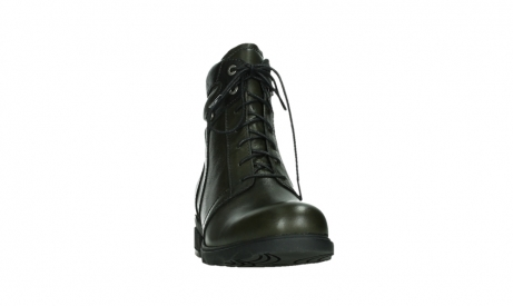 wolky lace up boots 02625 center 20730 forestgreen leather_6