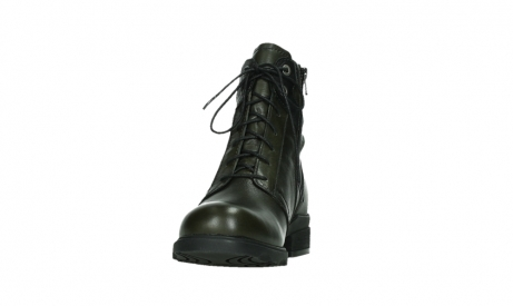 wolky lace up boots 02625 center 20730 forestgreen leather_8