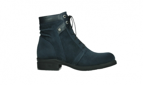 wolky lace up boots 02625 center 45800 blue suede_1