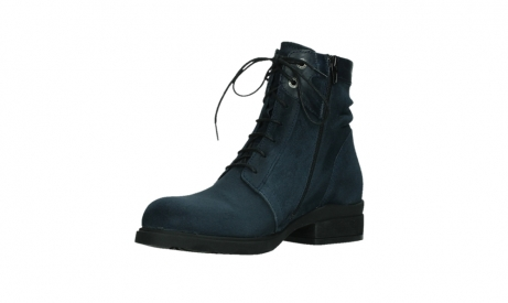 wolky lace up boots 02625 center 45800 blue suede_10