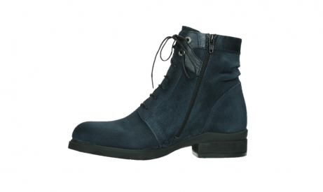 wolky lace up boots 02625 center 45800 blue suede_12
