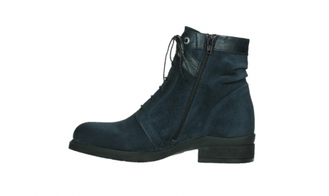 wolky lace up boots 02625 center 45800 blue suede_13