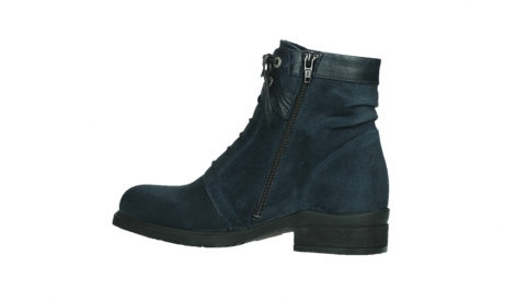 wolky lace up boots 02625 center 45800 blue suede_14