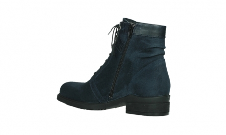 wolky lace up boots 02625 center 45800 blue suede_15