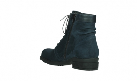 wolky lace up boots 02625 center 45800 blue suede_16