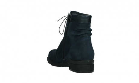 wolky lace up boots 02625 center 45800 blue suede_17