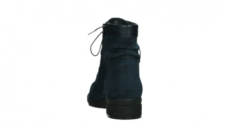 wolky lace up boots 02625 center 45800 blue suede_18