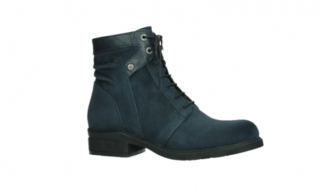 wolky lace up boots 02625 center 45800 blue suede_2