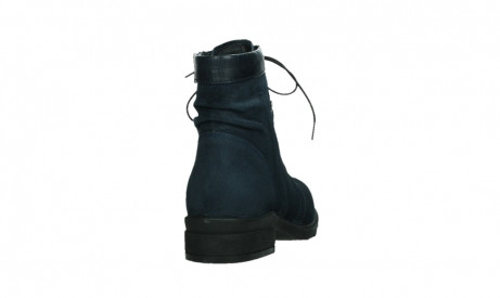 wolky lace up boots 02625 center 45800 blue suede_20
