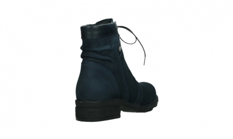 wolky lace up boots 02625 center 45800 blue suede_21