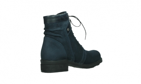 wolky lace up boots 02625 center 45800 blue suede_22