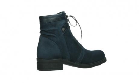 wolky lace up boots 02625 center 45800 blue suede_23