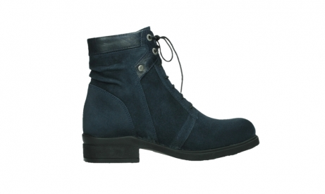 wolky lace up boots 02625 center 45800 blue suede_24