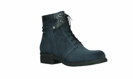 wolky lace up boots 02625 center 45800 blue suede_3