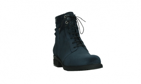 wolky lace up boots 02625 center 45800 blue suede_5
