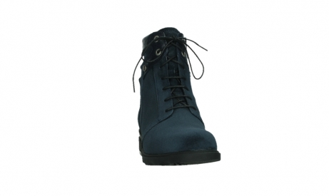 wolky lace up boots 02625 center 45800 blue suede_6