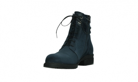 wolky lace up boots 02625 center 45800 blue suede_9