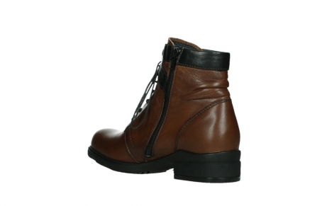 wolky lace up boots 02628 center wp 20430 cognac leather_16