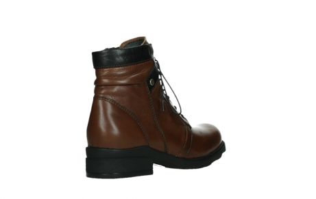 wolky lace up boots 02628 center wp 20430 cognac leather_22