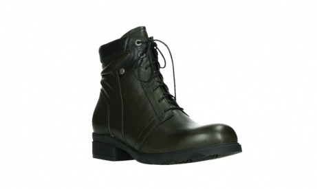 wolky lace up boots 02629 center xw 20730 forestgreen leather_4