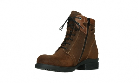 wolky lace up boots 02629 center xw 45410 tobacco suede_10