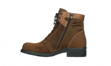 wolky lace up boots 02629 center xw 45410 tobacco suede_13