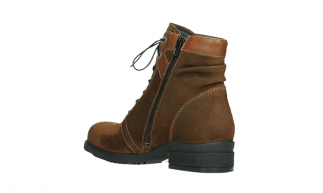 wolky lace up boots 02629 center xw 45410 tobacco suede_16