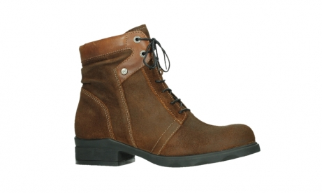 wolky lace up boots 02629 center xw 45410 tobacco suede_2