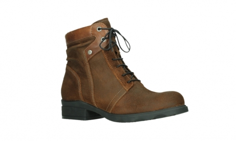 wolky lace up boots 02629 center xw 45410 tobacco suede_3