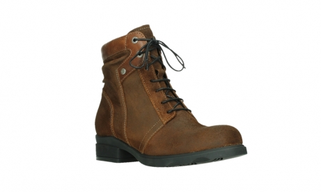 wolky lace up boots 02629 center xw 45410 tobacco suede_4