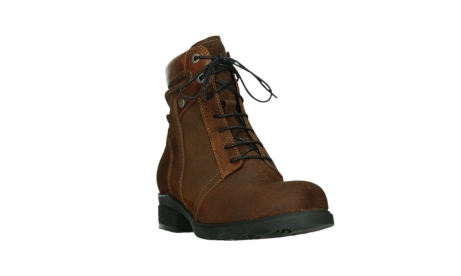 wolky lace up boots 02629 center xw 45410 tobacco suede_5
