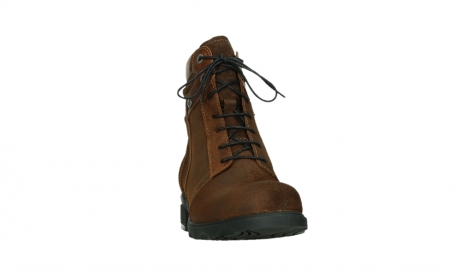 wolky lace up boots 02629 center xw 45410 tobacco suede_6