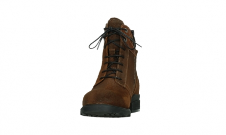wolky lace up boots 02629 center xw 45410 tobacco suede_8