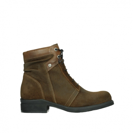 wolky lace up boots 02629 center xw 45410 tobacco suede
