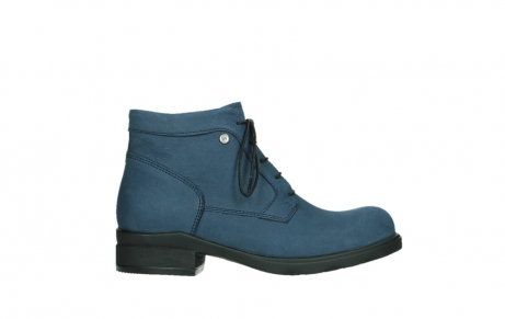 wolky lace up boots 02630 seagram xw 13800 blue nubuckleather_1