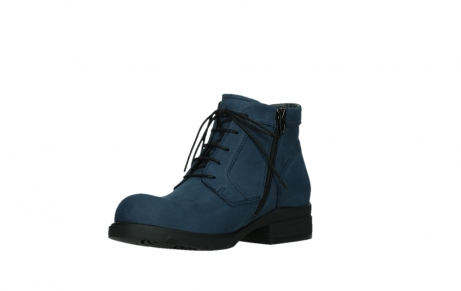 wolky lace up boots 02630 seagram xw 13800 blue nubuckleather_10