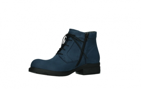 wolky lace up boots 02630 seagram xw 13800 blue nubuckleather_11