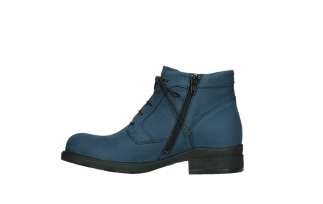 wolky lace up boots 02630 seagram xw 13800 blue nubuckleather_13