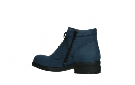 wolky lace up boots 02630 seagram xw 13800 blue nubuckleather_15
