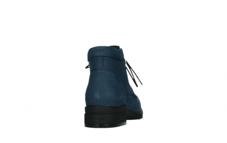wolky lace up boots 02630 seagram xw 13800 blue nubuckleather_20