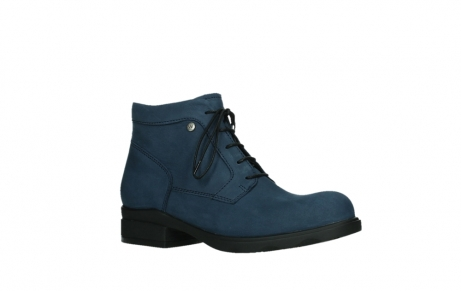 wolky lace up boots 02630 seagram xw 13800 blue nubuckleather_3